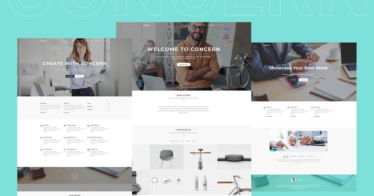 Download Concern - Multipurpose and Portfolio WordPress The by shtheme