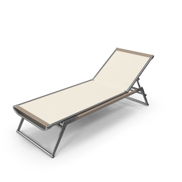 B&B Contemporary Chaise Lounge Chair