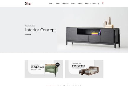 Терри — Мебель Shopify Тема