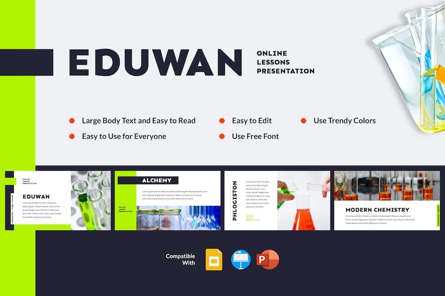 EDUWAN - Online Lessons Presentation