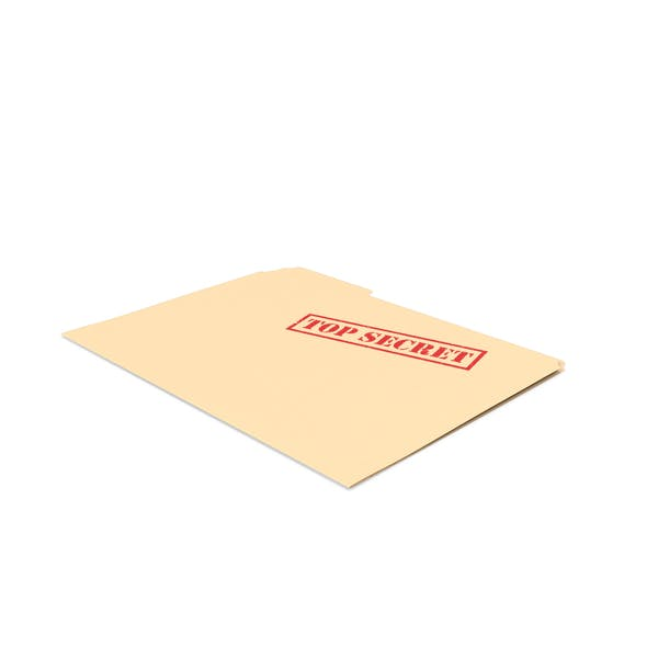 Top Secret Folder Empty