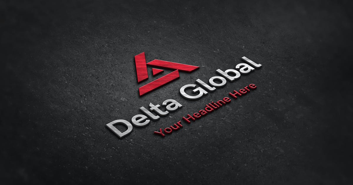 Download Delta Global Logo by uispot