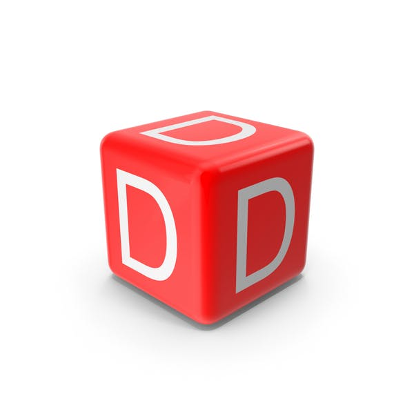 Red D Block
