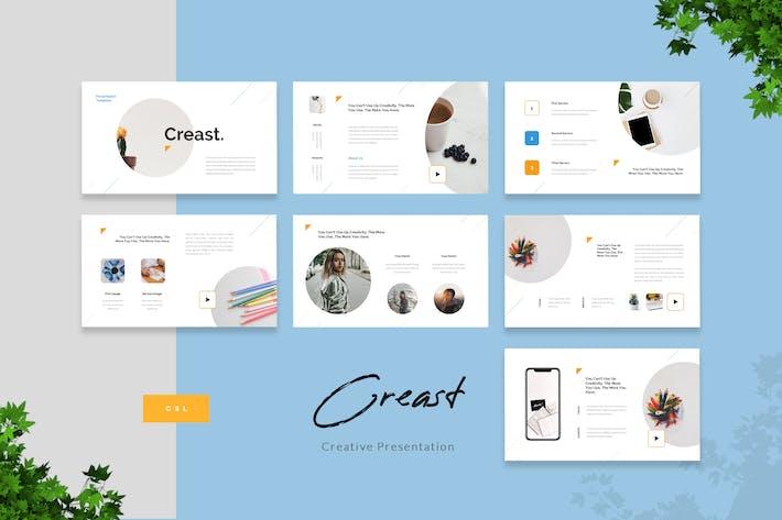 Creast - Creative Google Slides Template