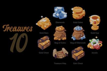Treasures - Illustration Sets