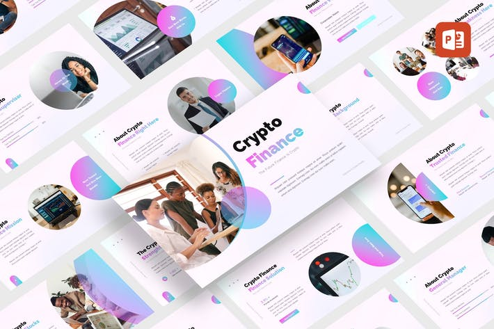 Crypto - Finance Design PowerPoint Template