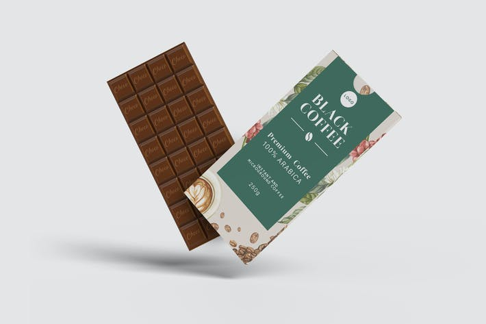 Thumbnail for Chocolate Packaging Box Mockup Vol 1.1