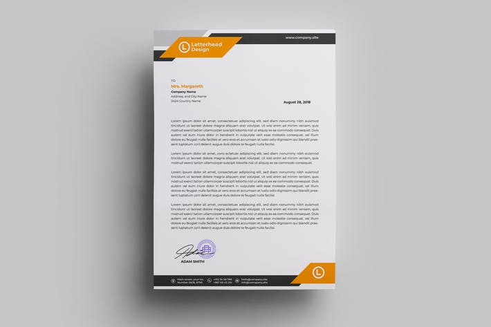 Thumbnail for Letterhead Design.10