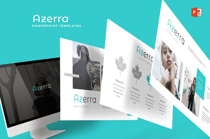 Thumbnail for Azerra - Powerpoint Template