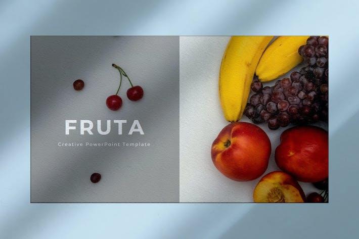 Thumbnail for Fruta - Многоцелевая презентация Google слайдов