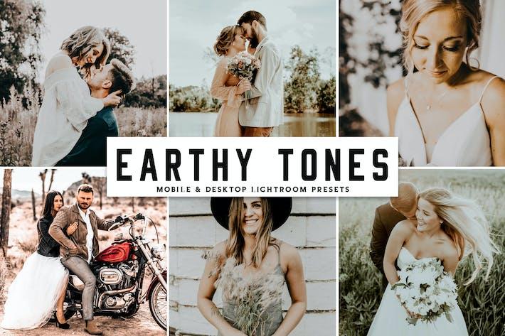 Cover Image For Earthy Tones Mobile & Desktop Lightroom Presets