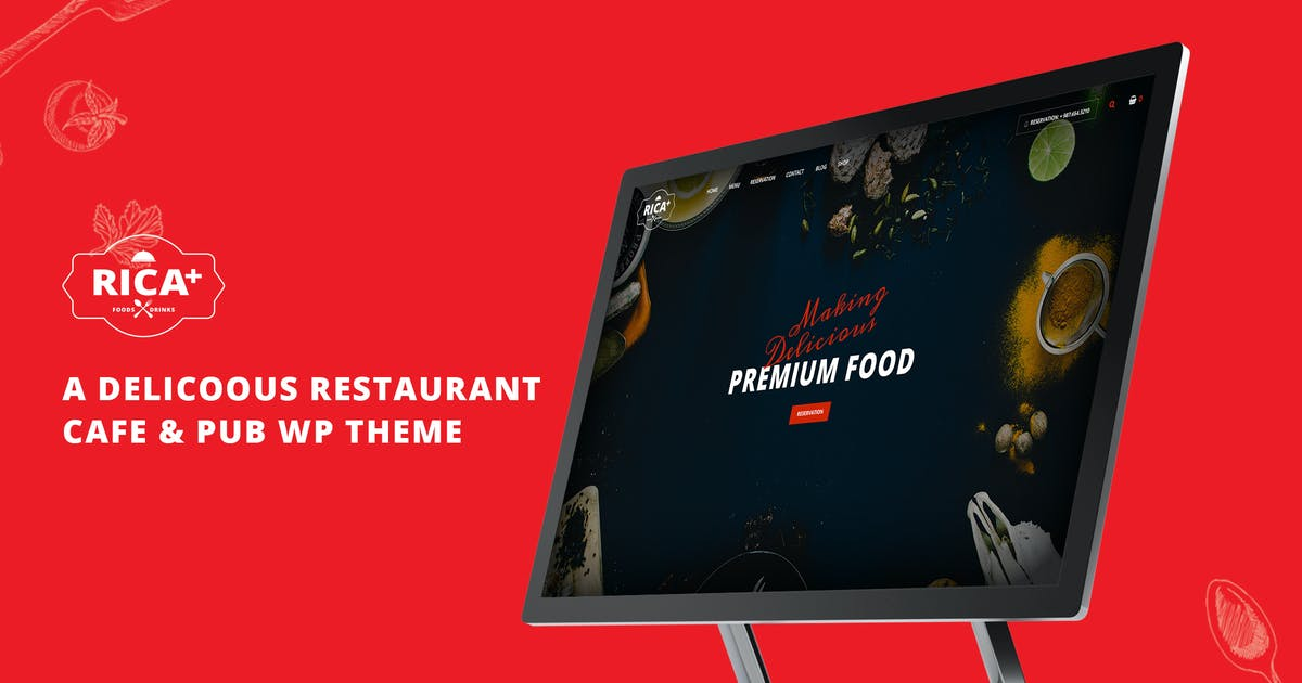 Download Rica Plus - A Delicious Restaurant, Cafe & Pub WP by G5Theme