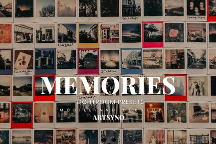 Memories Lightroom Presets Dekstop and Mobile