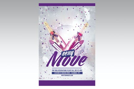 Sexy Move Flyer Poster
