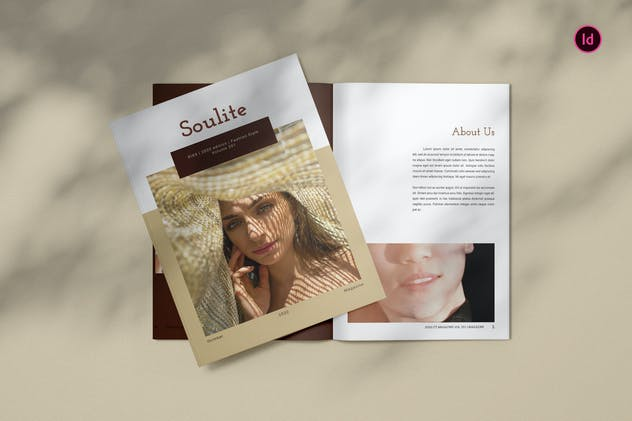 Soulite Fashion Magazine Template BL
