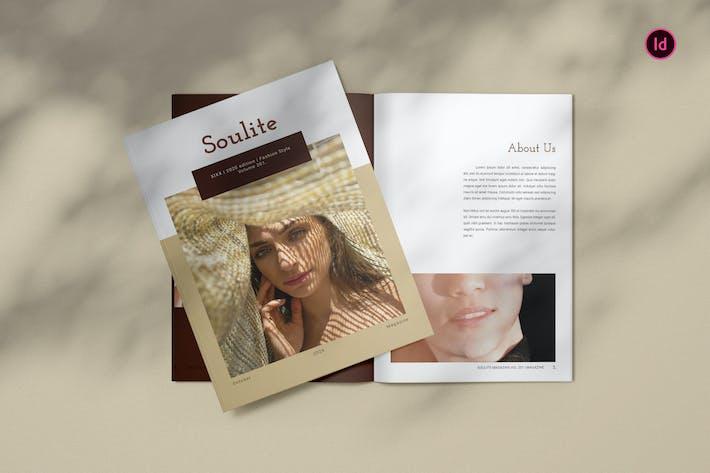 Thumbnail for Soulite Fashion Magazine Template BL