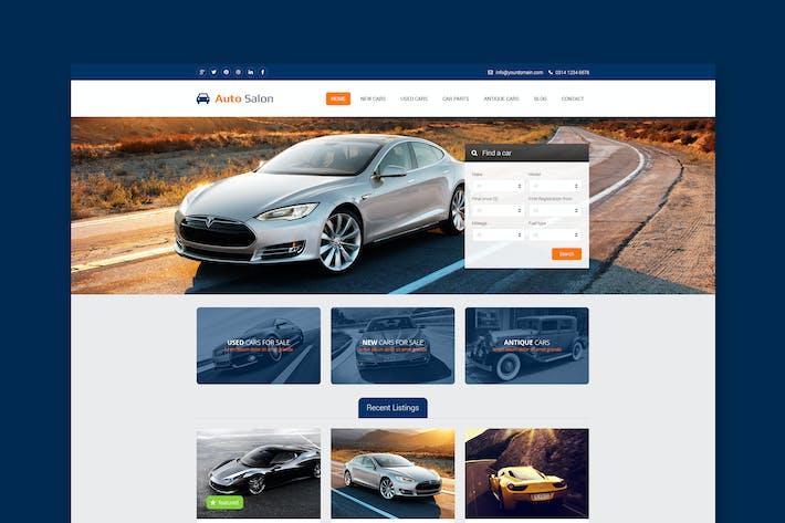 Cover Image For Automan - Car Dealer PSD Template