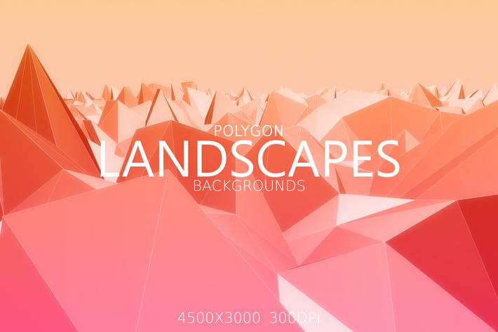 Thumbnail for Polygon Landscapes Background