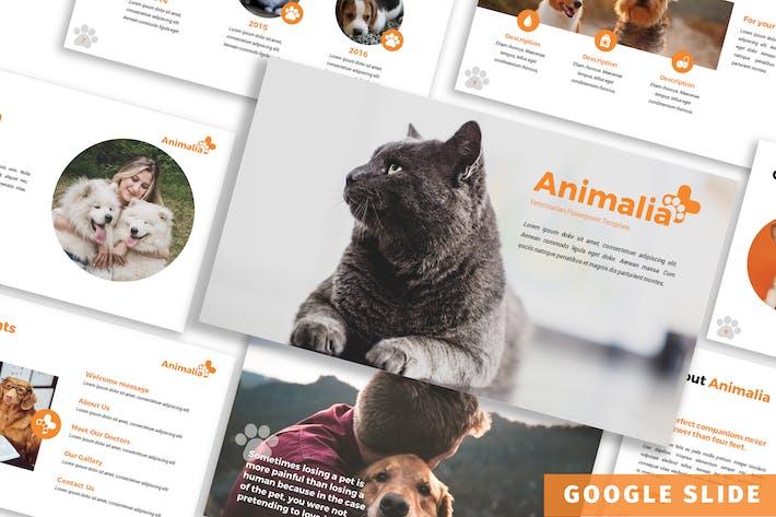 Thumbnail for Animalia - Шаблон слайдов Google