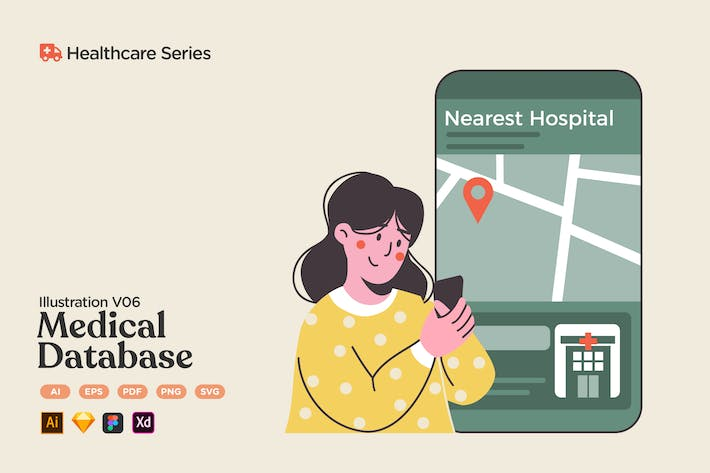Healthcare V06 Medical Database Hospital & Clinic