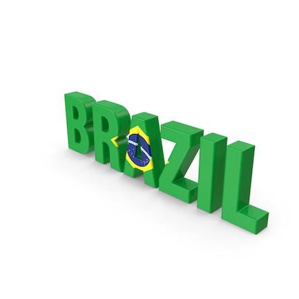 Brasilien-Text