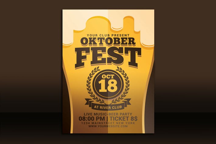 Thumbnail for Oktober Festival Flyer