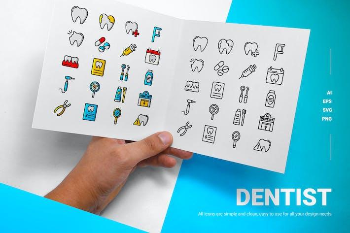 Zahnarzt - Icons
