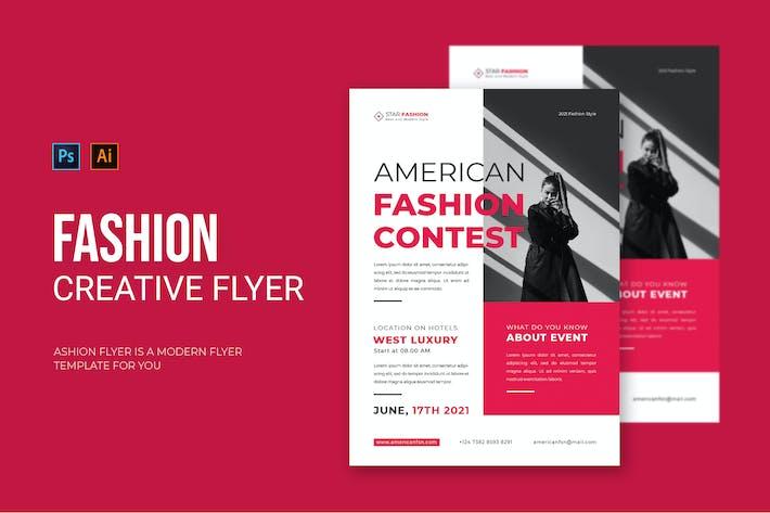 American Fashion - Flyer
