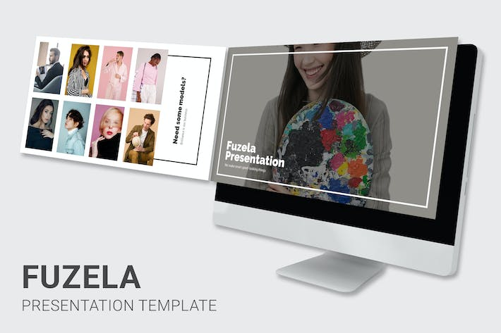 Thumbnail for Fuzela - Model Agency Google Slides