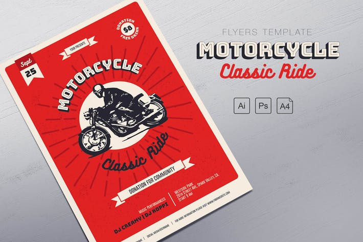 Thumbnail for Motorcycle Classic Ride