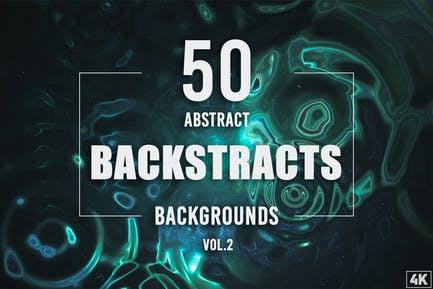 50 abstrakte Backstracts - Band 2