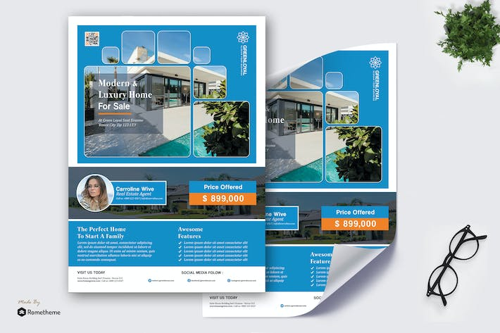 Thumbnail for GreenLoyal -  Real Estate Promotion Poster HR