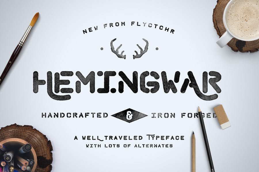 Hemingwar Font