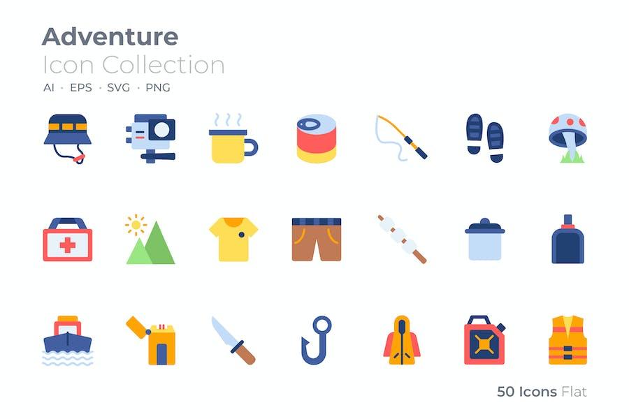 Adventure Color Icon
