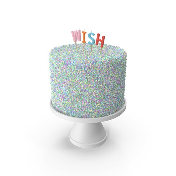 Thumbnail for Multicolored Wish Cake