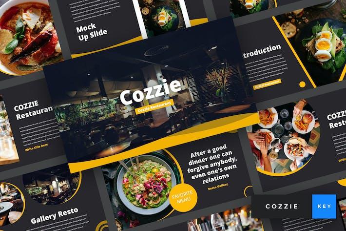 Thumbnail for Cozzie - Restaurant Keynote Template