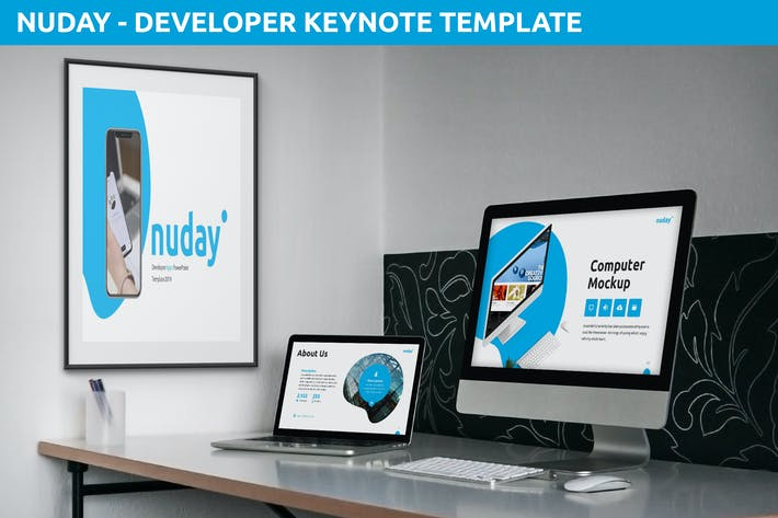 Cover Image For Nuday - Developer Keynote Template