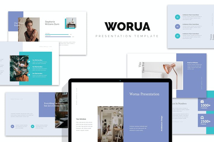 Thumbnail for Worua Home Decor & Interior Business Google Slides
