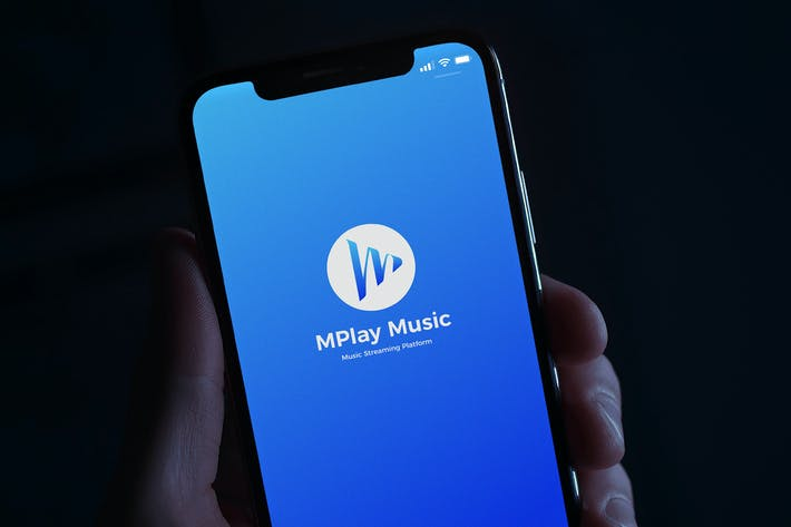 Thumbnail for M Play Music logo
