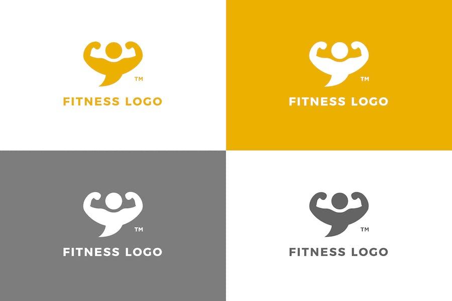 Fitness - Logovorlage