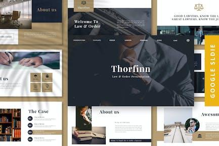 Thorfinn - Адвокат Google Слайд