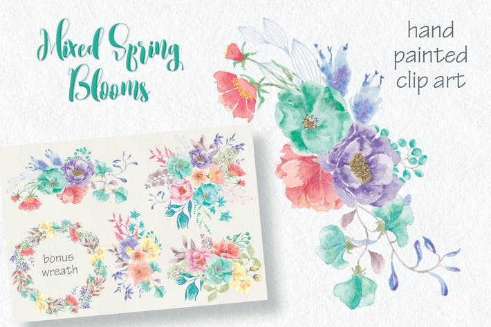Thumbnail for Sprays of Mixed Spring Blooms