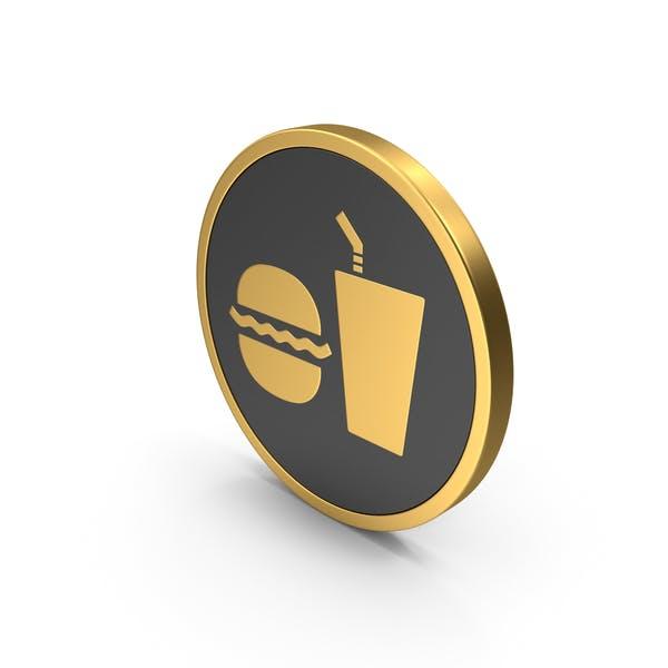 Gold Cafe Sign
