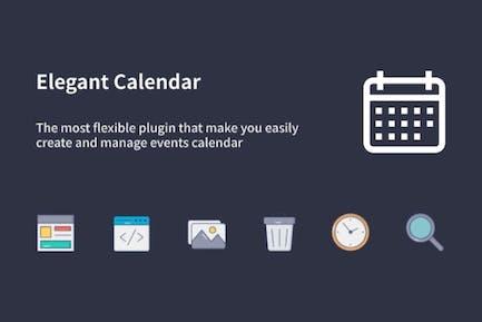 Elegant Calendar - WordPress Events Calendar
