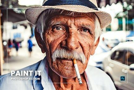 Paint It Photoshop Action