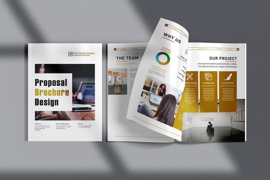 Company Profile / Proposal Brochure Design