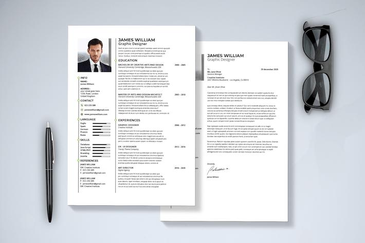Thumbnail for Minimal Resume & Cover Letter