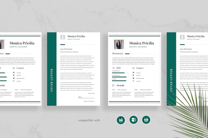 Thumbnail for Professional Resume Vol 33