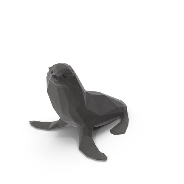 Thumbnail for Low Poly Sea Lion