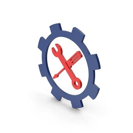 Symbol Tools Red
